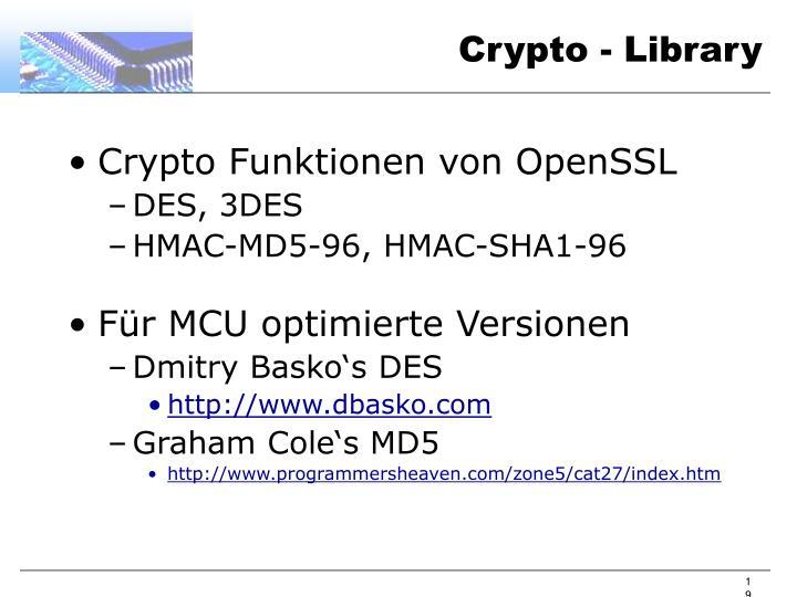 Crypto - Library