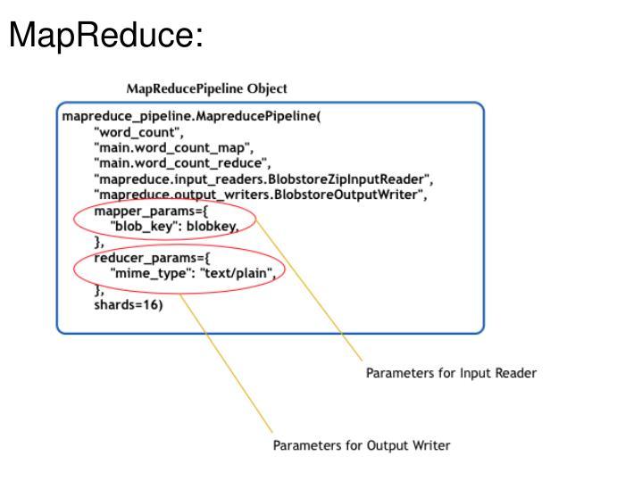 MapReduce: