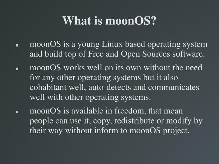 What is moonos