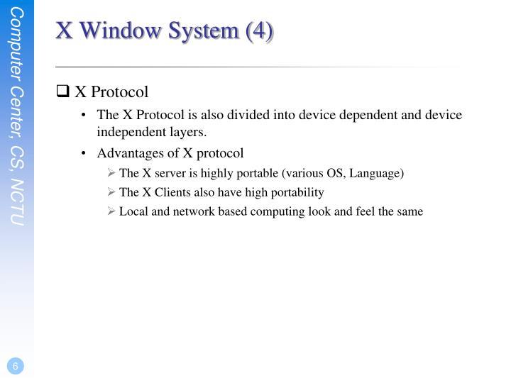 X Window System (4)