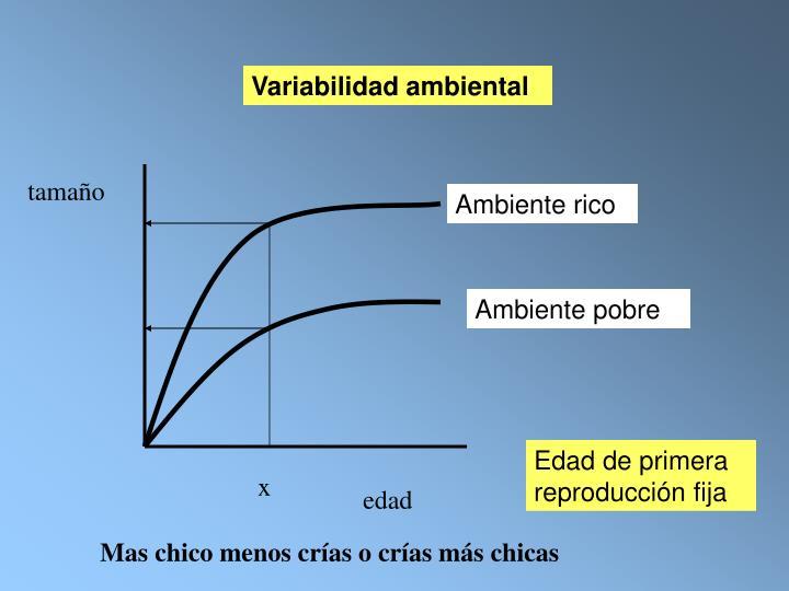Variabilidad ambiental