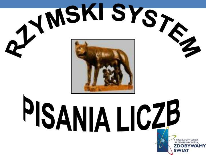 RZYMSKI SYSTEM
