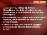array terms4