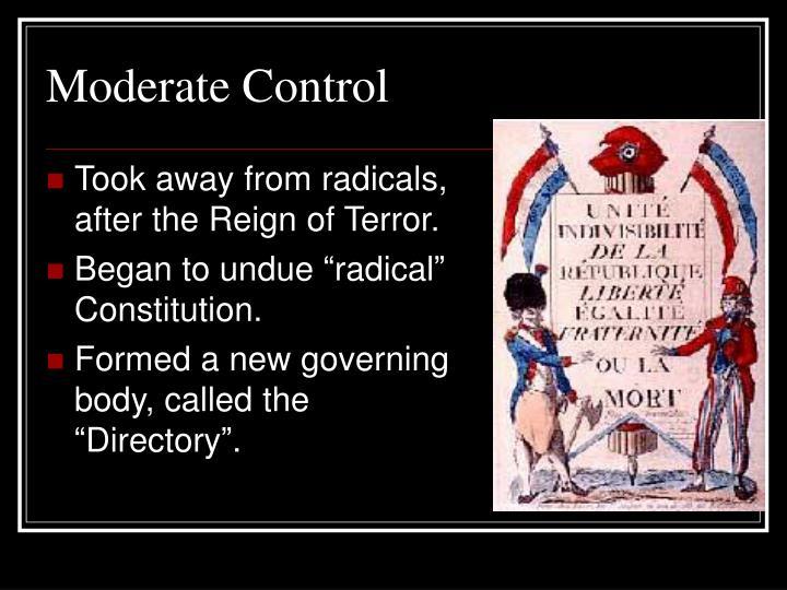 Moderate Control