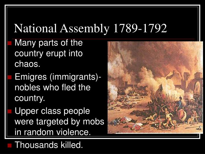 National Assembly 1789-1792
