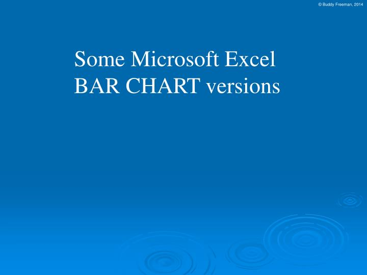 Some Microsoft Excel