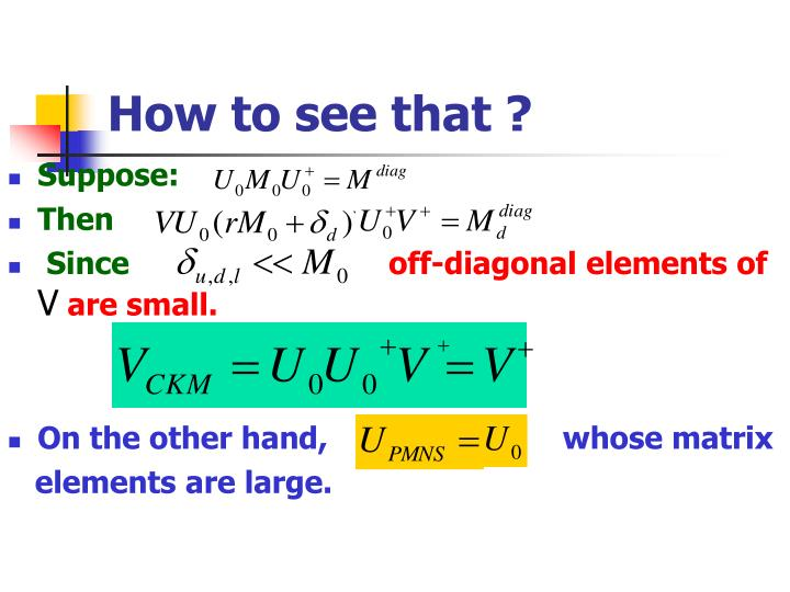 How to see that ?