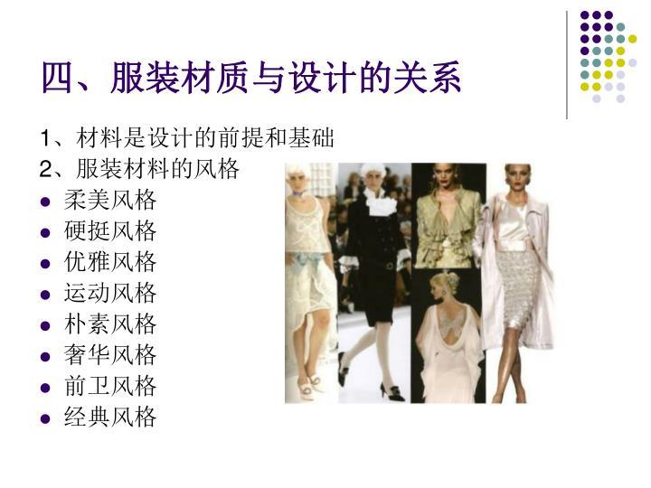 四、服装材质与设计的关系