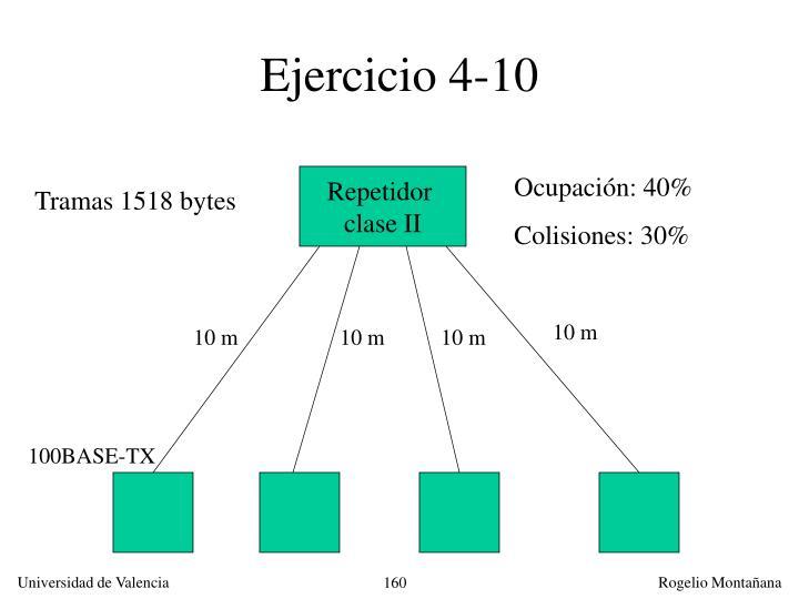 Ejercicio 4-10