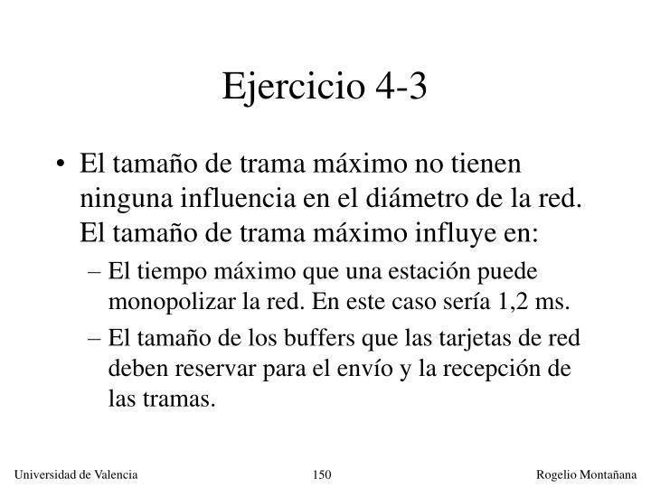 Ejercicio 4-3