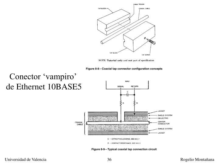 Conector 'vampiro'