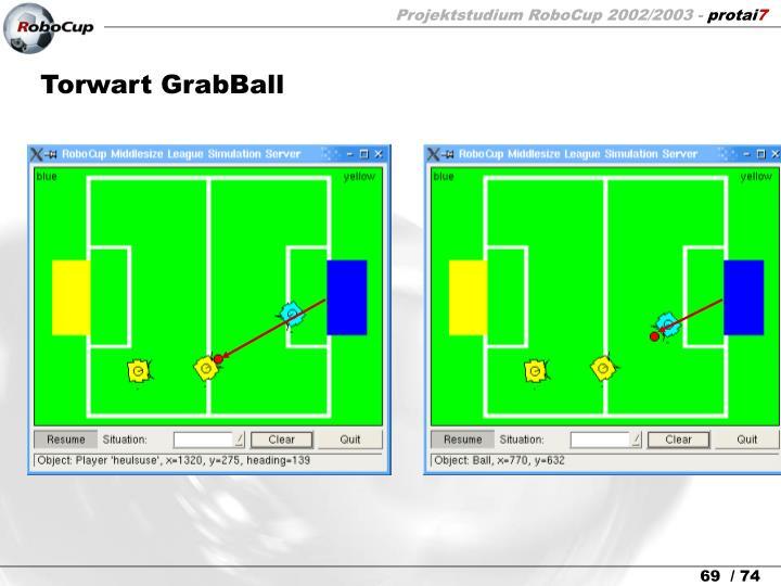 Torwart GrabBall