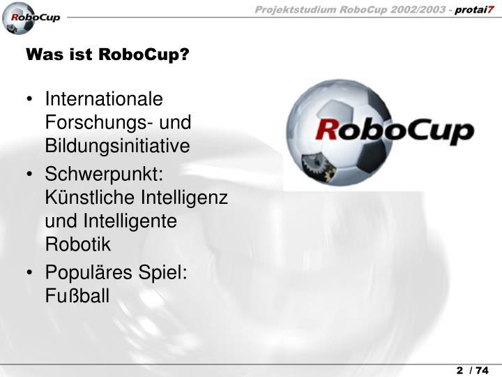 Was ist RoboCup?
