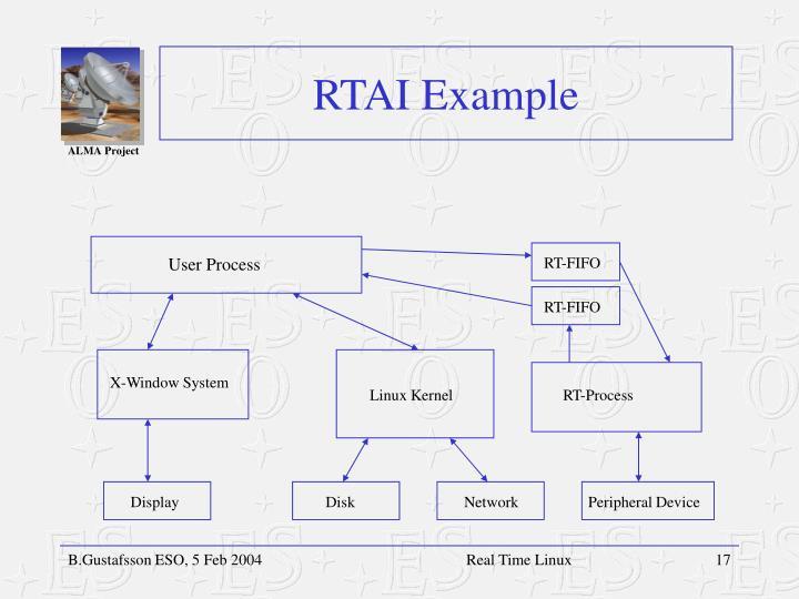 RTAI Example