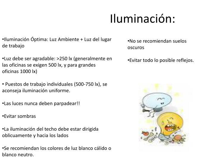 Iluminación: