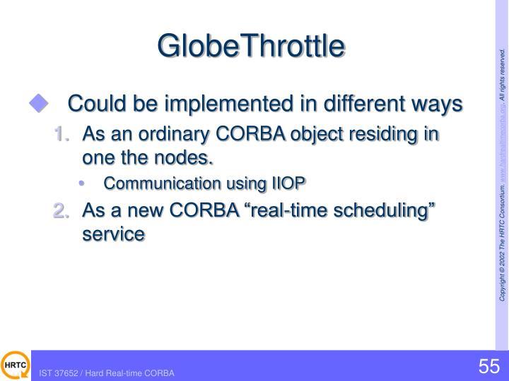 GlobeThrottle