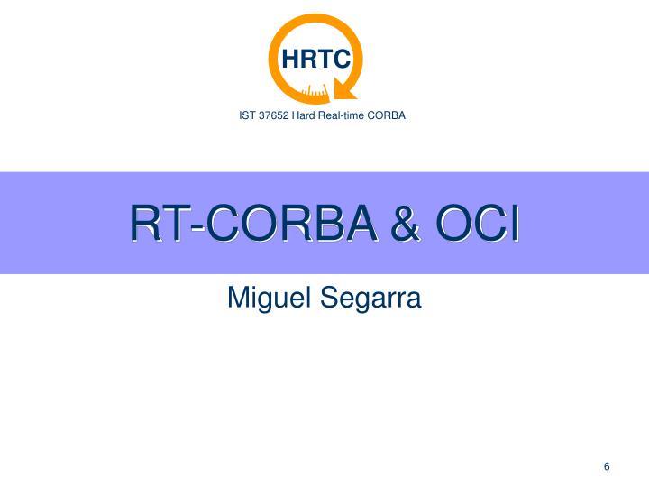 RT-CORBA & OCI