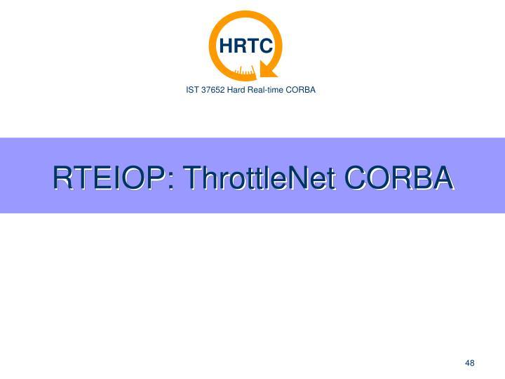 RTEIOP: ThrottleNet CORBA