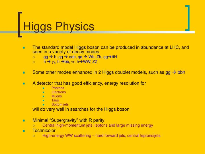 Higgs Physics