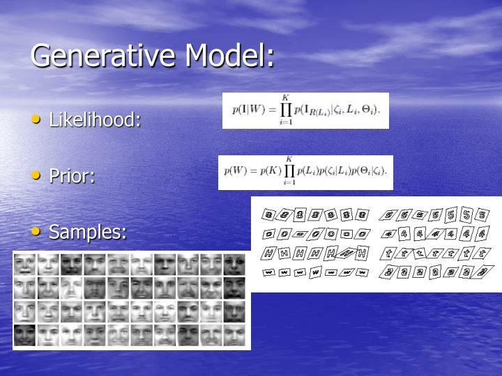 Generative Model: