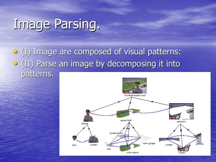 Image Parsing.