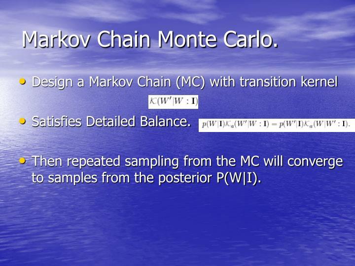 Markov Chain Monte Carlo.