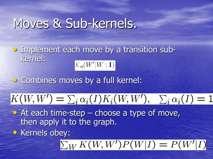 Moves & Sub-kernels.