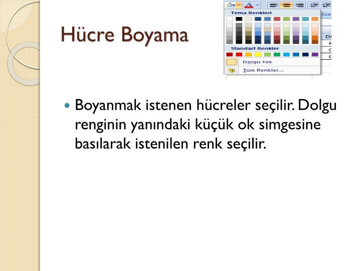 Hücre Boyama