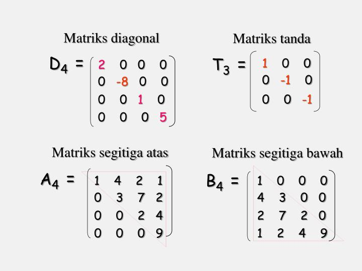Matriks diagonal