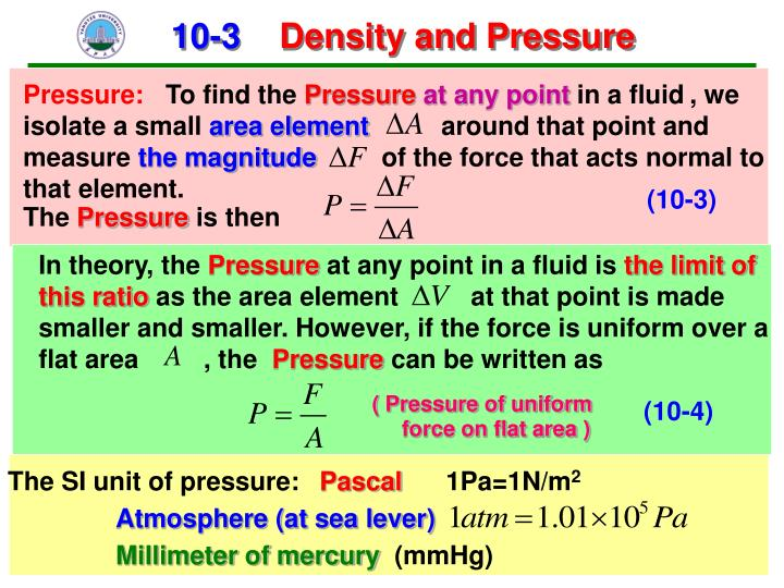 Pressure: