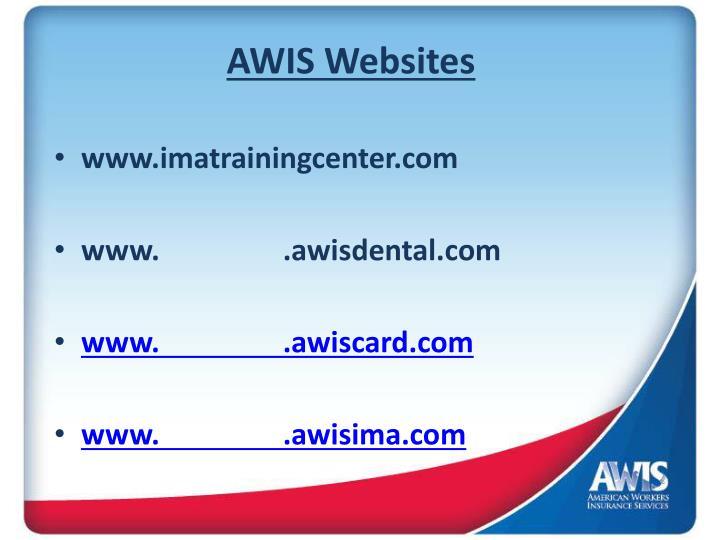 AWIS Websites