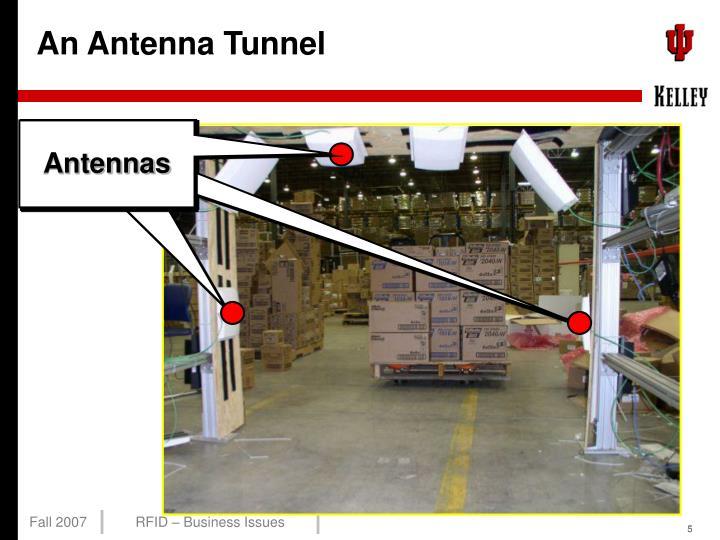 An Antenna Tunnel