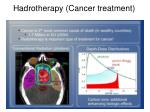 hadrotherapy cancer treatment
