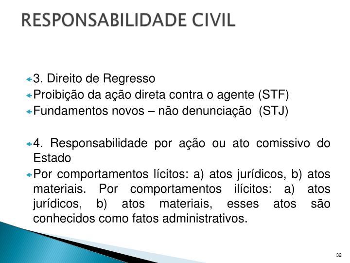 3. Direito de Regresso