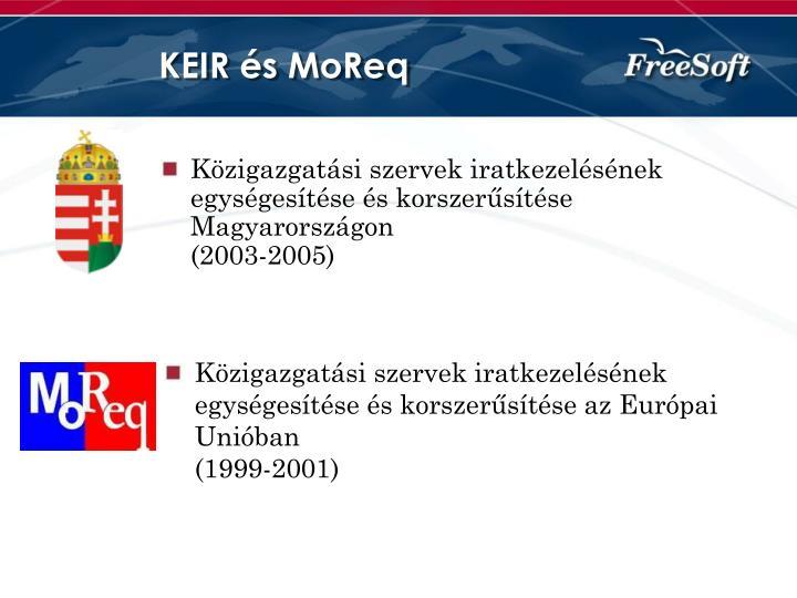 KEIR és MoReq