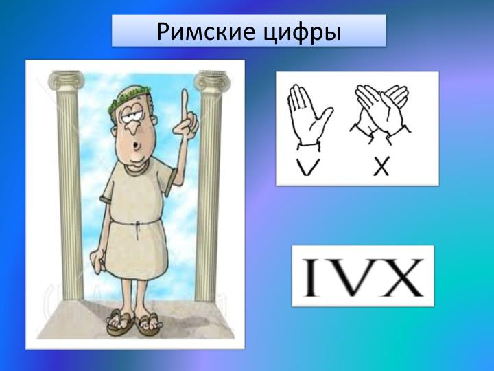 Римские цифры