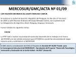 mercosur gmc acta n 01 09