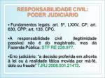 responsabilidade civil poder judici rio