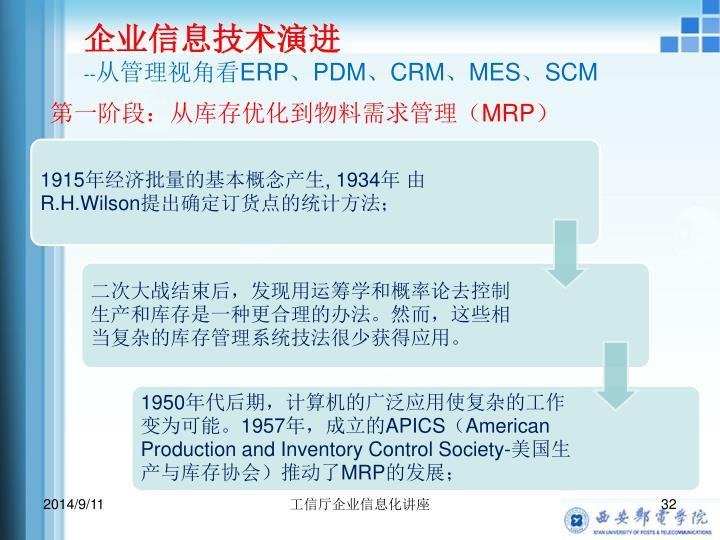 企业信息技术演进