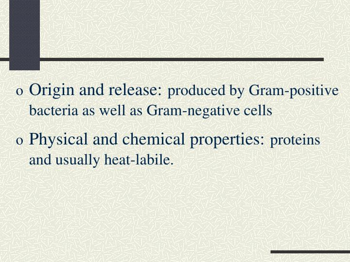 Origin and release: