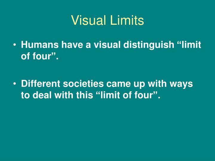 Visual Limits