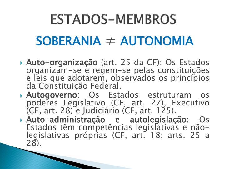 ESTADOS-MEMBROS
