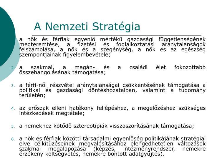 A Nemzeti Stratégia