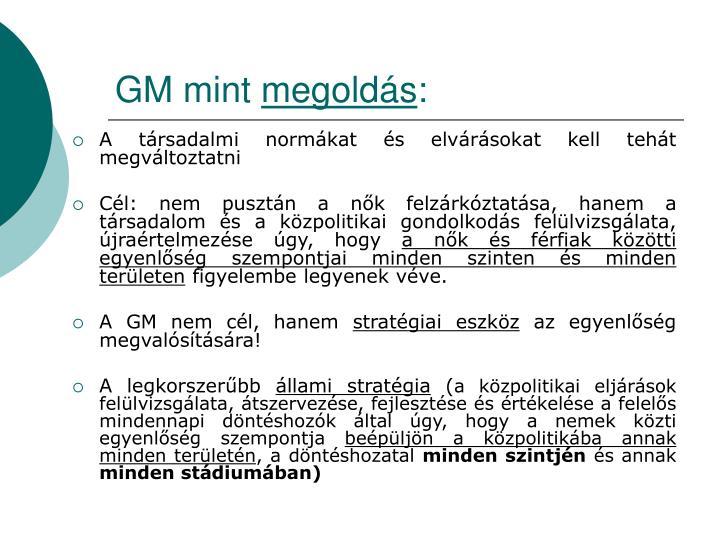 GM mint