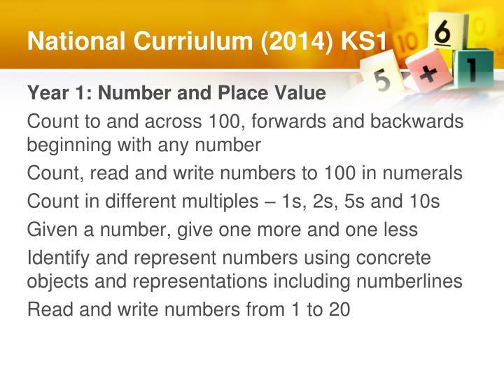 National Curriulum (2014) KS1