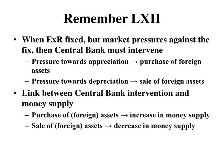 Remember LXII
