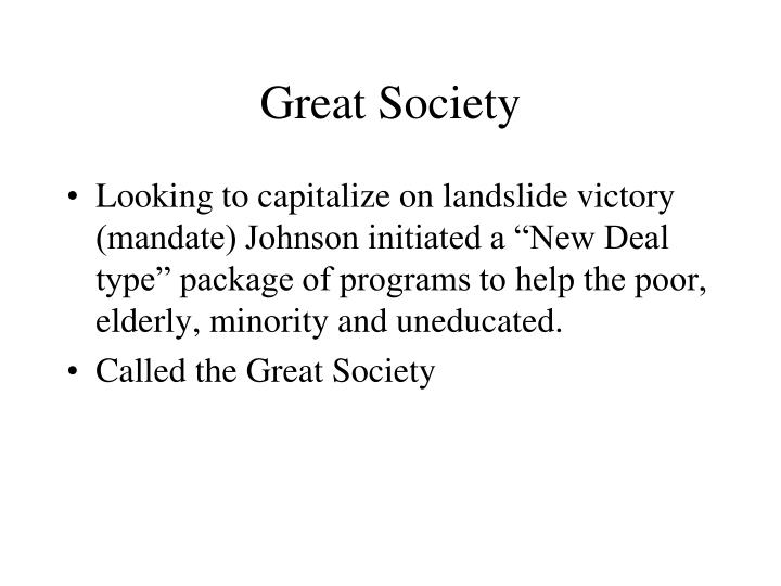 Great Society
