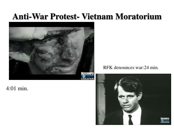Anti-War Protest- Vietnam Moratorium
