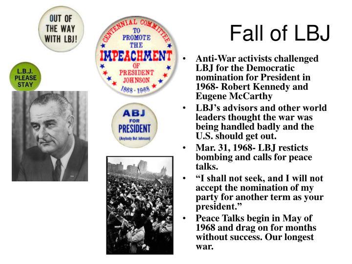 Fall of LBJ