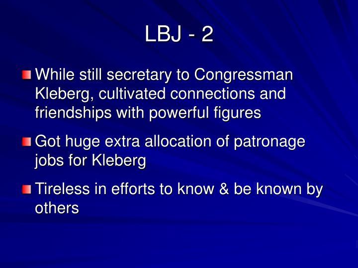 LBJ - 2